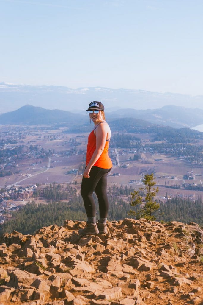 Spion Kop is a great hike on the Okanagan bucket list