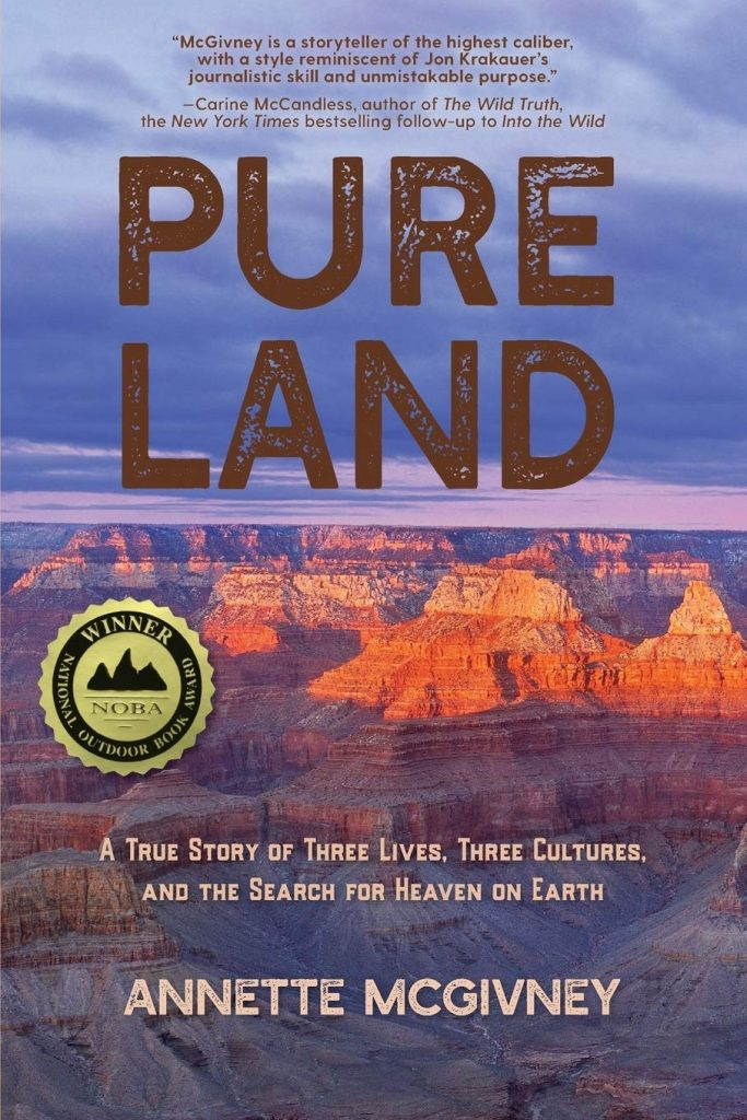 Pure Land by Annette McGivney, an outdoor adventure book