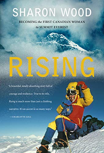 Rising by Sharon Wood, an outdoor adventure book