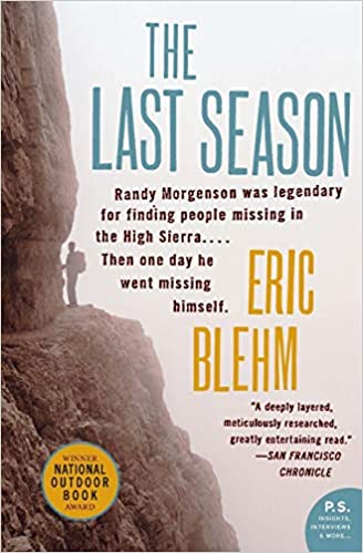 The Last Season by Eric Blehm, an outdoor adventure book