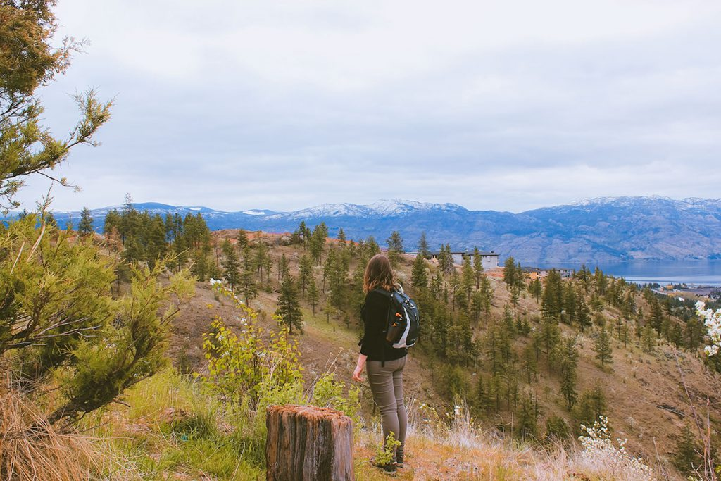 How to hike responsibly in Kelowna