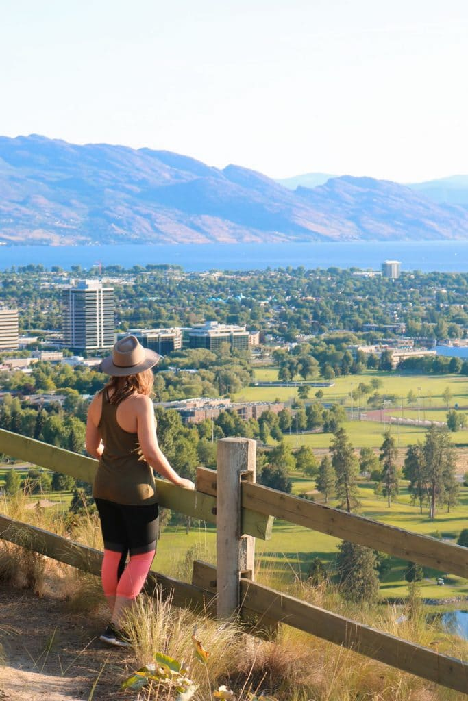 An easy hike at Dilworth Mountain Park in Kelowna.