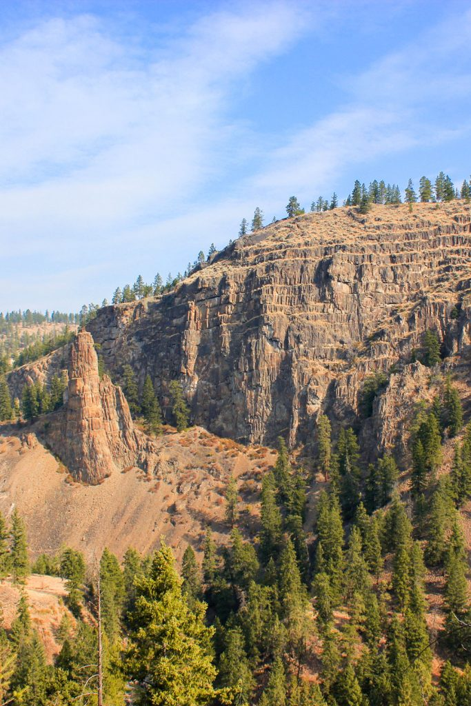 Layer Cake Mountain is an easy hike in Kelowna
