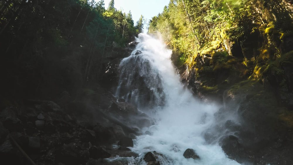 Kay Falls roars in the spring
